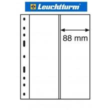 Leuchtturm OPTIMA 2VC лист прозрачный для марок, 2 ячейки, пр-во Германия
