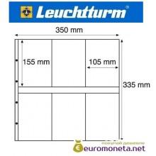 Германия Leuchtturm MAXIMUM MAX 3C лист для банкнот, акций, открыток и другого, прозрачный 5 листов