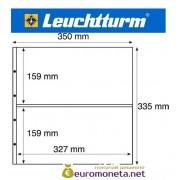 Германия Leuchtturm MAXIMUM MAX 7C лист для банкнот, акций и другого, прозрачный 5 листов