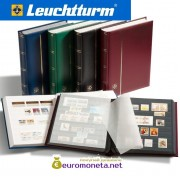 Leuchtturm альбом COMFORT DIN A4 S64 белые страницы, мягкая обложка, зелёный, Германия