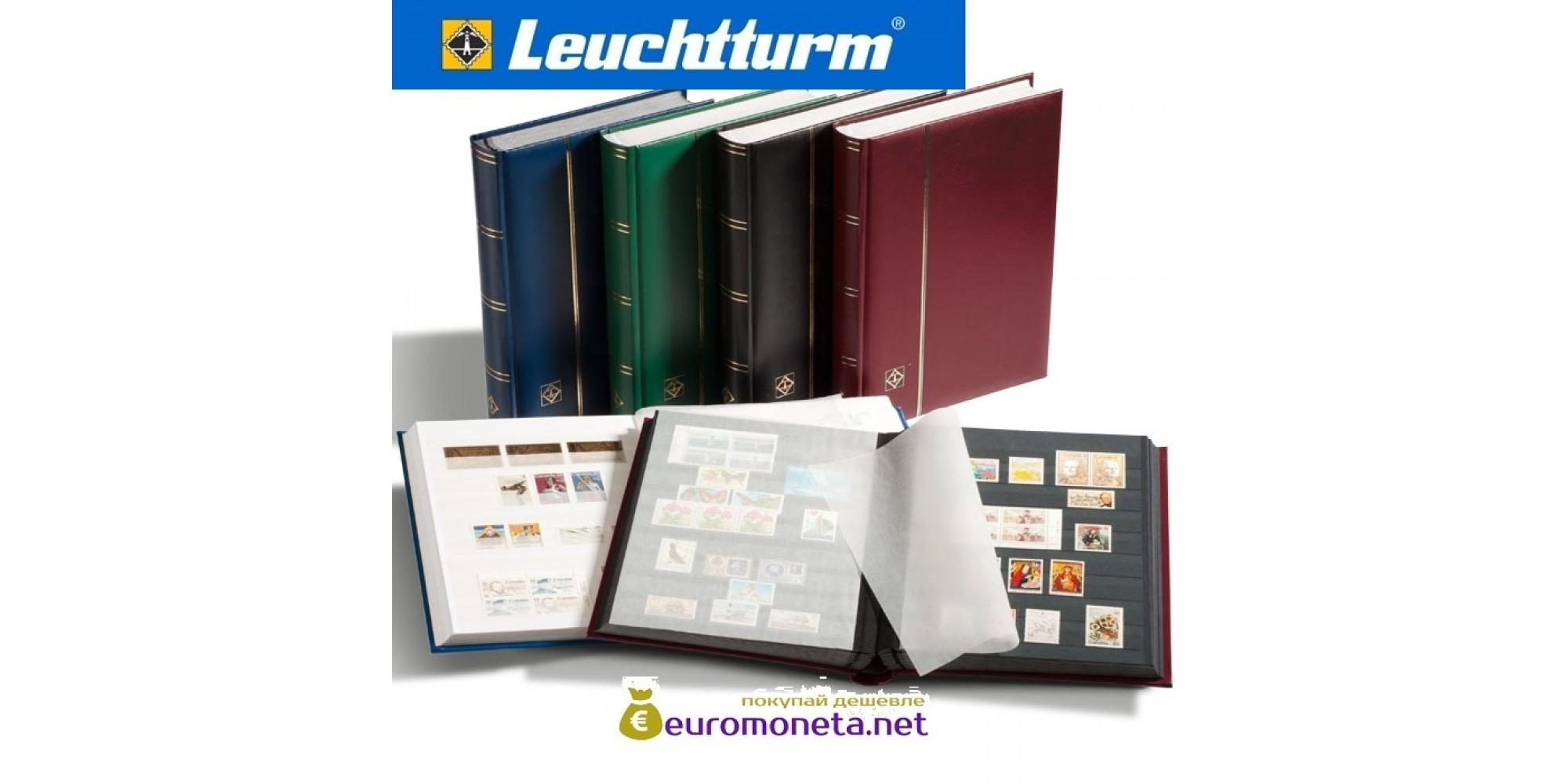 Leuchtturm альбом COMFORT DIN A4 S64 белые страницы, мягкая обложка, чёрный
