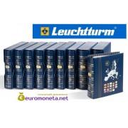 Leuchtturm альбом VISTA для евро монет годовые наборы за 2015 год внешняя обложка