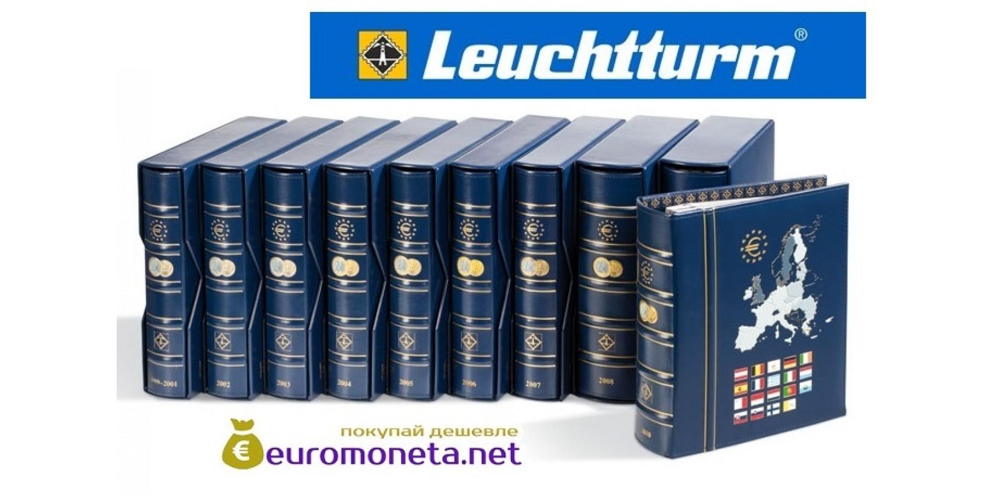 Leuchtturm альбом VISTA для евро монет годовые наборы за 2015 год внешняя обложка (шубер)