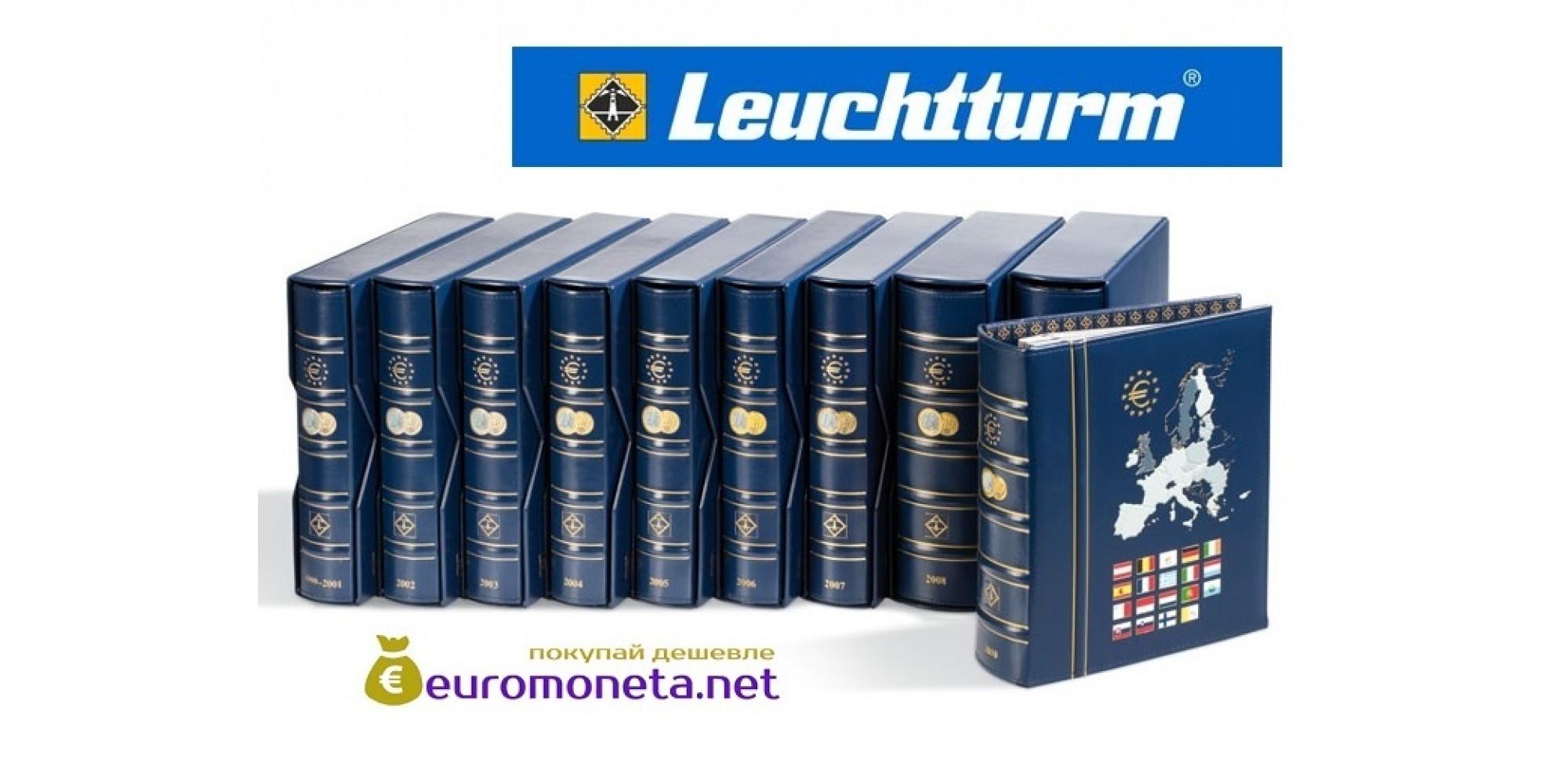 Leuchtturm альбом VISTA для евро монет годовые наборы за 2019 год внешняя обложка (шубер)