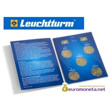 Leuchtturm буклет для хранения 5 монет 2 евро, Бавария 2012