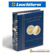 Альбом для монет OPTIMA классический для юбилейных монет 2 евро, футляр шубер, синий, Германия