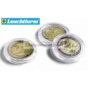 Leuchtturm капсулы ULTRA для хранения монет внутренний диаметр 35 мм, внешний 41 мм, 10 штук