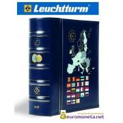 Leuchtturm альбом VISTA для евро монет годовые наборы за 2016 год внешняя обложка