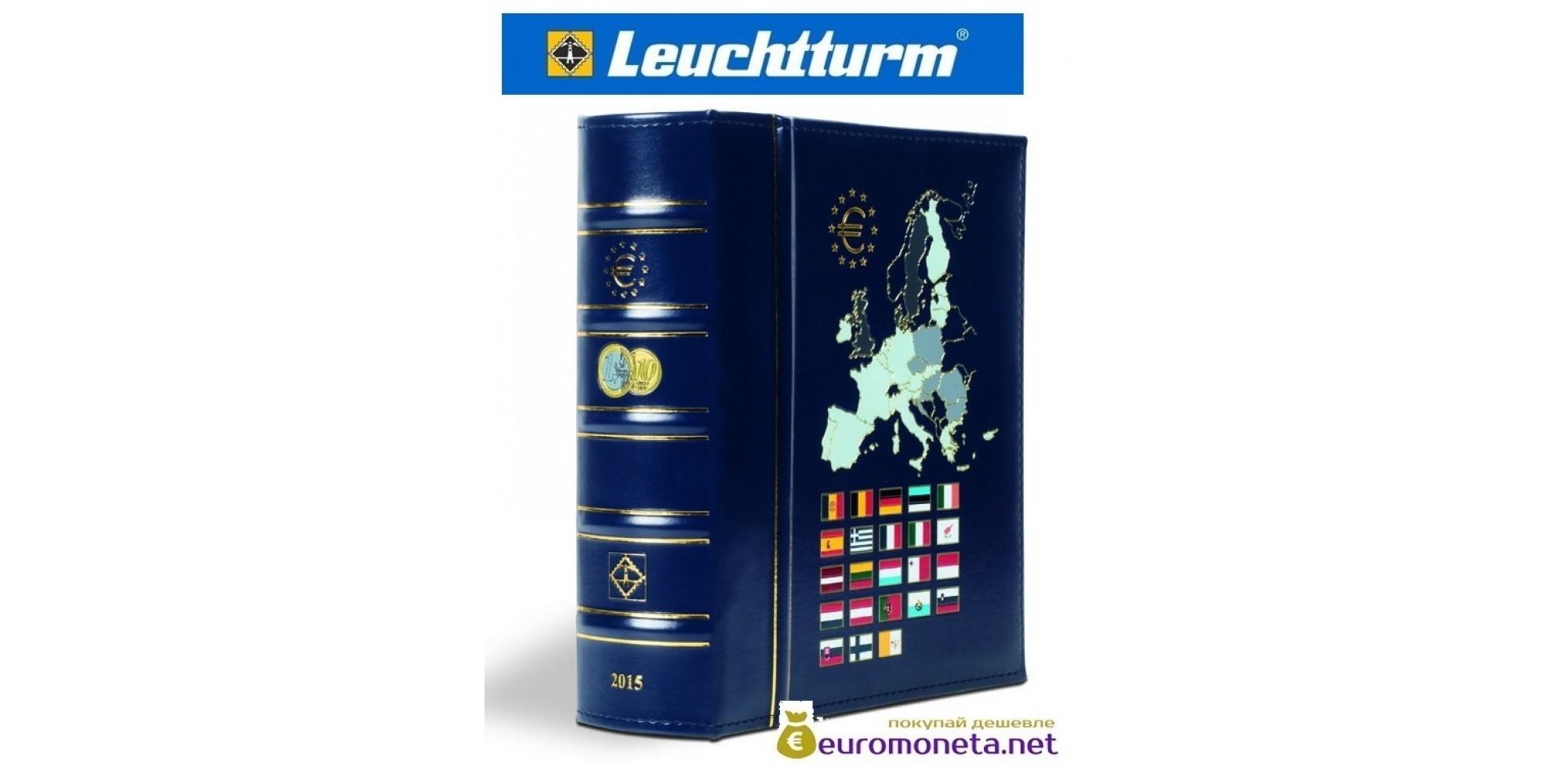 Leuchtturm альбом VISTA для евро монет годовые наборы за 2016 год внешняя обложка (шубер)