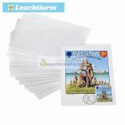 Защитный лист-обложка (холдер) для открыток, почтовых карточек (150х107 мм). Упаковка 200 шт. Leuchtturm.