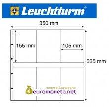 Leuchtturm MAXIMUM MAX 3S лист чёрный для банкнот, открыток и другого