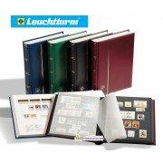 Leuchtturm альбом COMFORT DIN A4 S64 чёрные страницы, мягкая обложка, синий