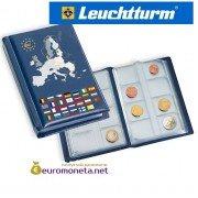 Leuchtturm Альбом для монет 12 листов для 12 евро наборов монет