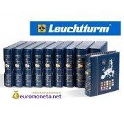 Leuchtturm альбом VISTA для евро монет годовые наборы за 2017 год внешняя обложка