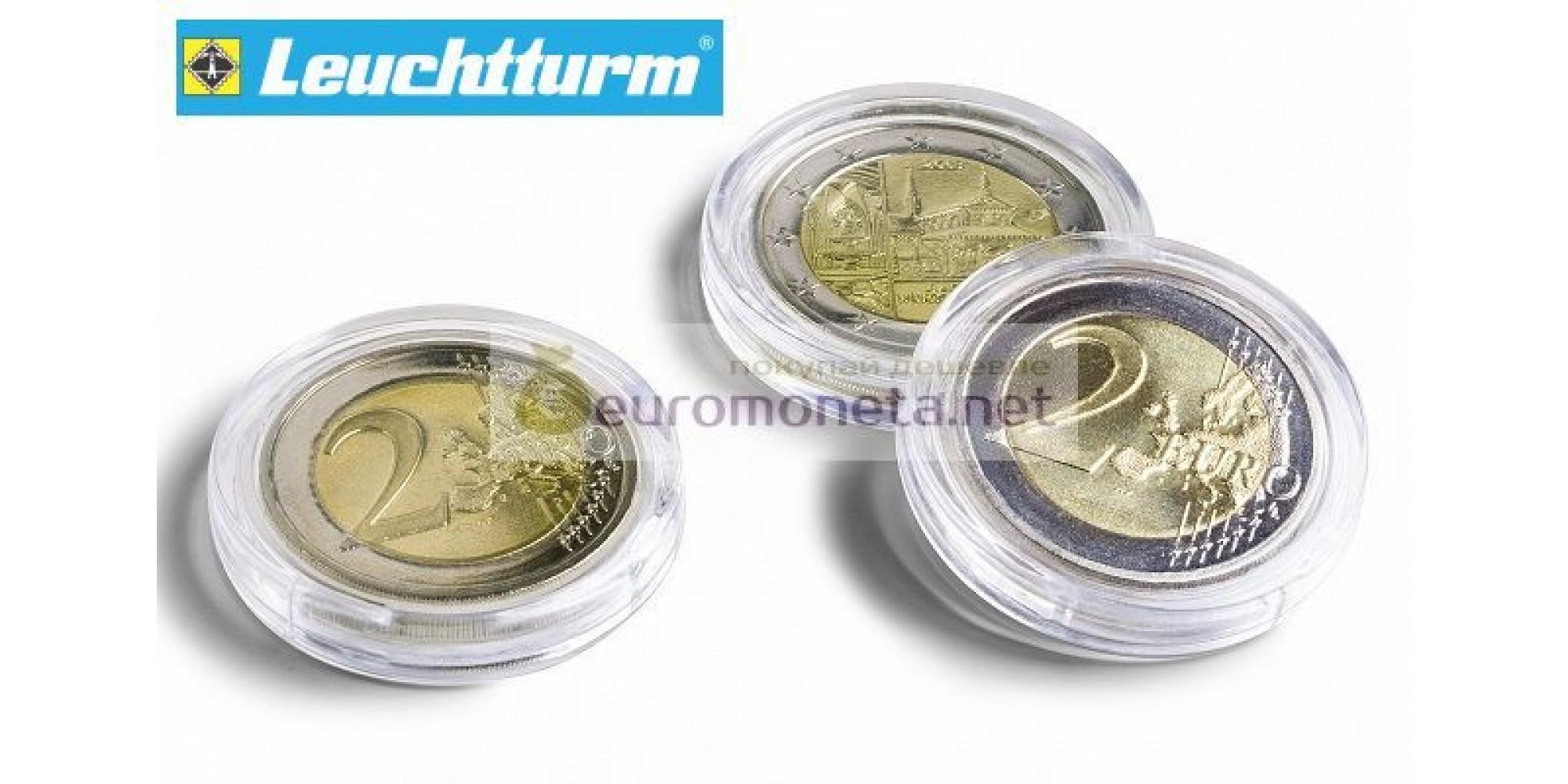 Leuchtturm капсулы ULTRA для хранения монет внутренний диаметр 21 мм, 10 штук