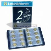 Альбом карманный для монет 2 евро и других 48 ячеек, синий, Leuchtturm