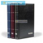 Альбом STAR COLLECT DIN A4 S60 чёрные страницы, мягкая обложка, бордовый, Германия Leuchtturm