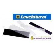 Клеммташи Leuchtturm SF полоски 217х27.5 мм, чёрные, 25 штук, Германия