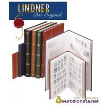 Lindner альбом клеммташ Стандарт 16 белых страниц А5, 165х220 мм, зелёный, Германия