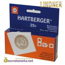 Холдер HARTBERGER 15 мм для монет, самоклеящиеся, Германия