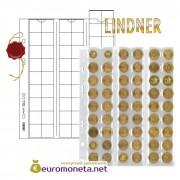 Lindner лист MU54 Multi Collect (Optima) для 54 монет до 20 мм, с листами разделителями, упаковка 5 штук, Германия