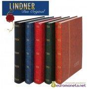 Lindner альбом клеммташ Стандарт 48 белых страниц, 230х305 мм, синий, Германия