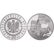 Польша 20 злотых 1997 год Замки и дворцы в Польше: Пескова Скала серебро пруф
