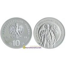 Польша 10 злотых 2003 год Короли и князья польские Станислав Лещинский (1704-1709; 1733-1736) торс серебро пруф