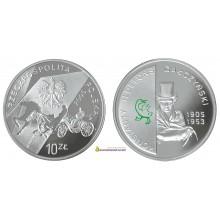 Польша 10 злотых 2005 год Константы Ильдефонс Галчиньский пруф серебро