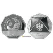 Польша 10 злотых 2006 год 100-летие школы экономики в Варшаве серебро пруф