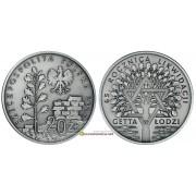Польша 20 злотых 2009 год 65-я годовщина ликвидации гетто в Лодзи серебро