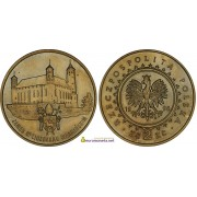 Польша 2 злотых 1996 год замки и дворцы Польши: Замок в Лидзбарк-Варминьском