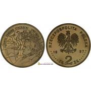 Польша 2 злотых 1997 год 200-летие со дня рождения Павла Эдмунда Стшелецкого