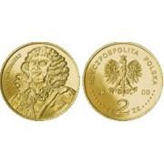 Польша 2 злотых 2000 год Польские короли Ян II Казимир (Jan II Kazimierz)