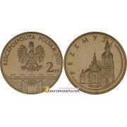 Польша 2 злотых 2007 год Пшемысль (Przemyśl), АЦ из банковской запайки