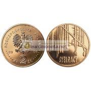 Польша 2 злотых 2008 год Сибиряки, АЦ