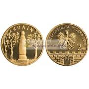 Польша 2 злотых 2008 год Серия монет: «Исторические города в Польше» Конин вои. Великопольское, АЦ