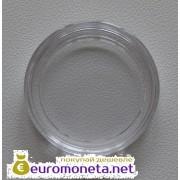 Польша круглая капсула для монет 24 мм 10 штук