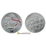 Польша 20 злотых 2004 год Польский Год ритуал: Праздник урожая серебро пруф