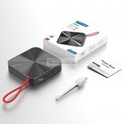 Внешний аккумулятор Konfulon mini Power Bank 10000 mAh Type-C, чёрный