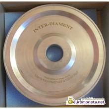 Диск алмазный для формования шаров из янтаря INTER-DIAMENT, диаметр 16 мм, пр-во Польша