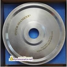 Диск алмазный для формования шаров из янтаря INTER-DIAMENT, диаметр 7 мм, пр-во Польша