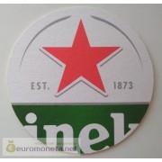 Бирдекель подставка под бокал (пивной) бутылку Heineken