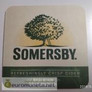 Бирдекель подставка под бокал (пивной) бутылку Somersby