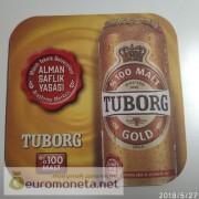 Бирдекель подставка под бокал (пивной) бутылку Tuborg