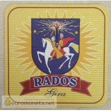 Бирдекель подставка под бокал (пивной) бутылку Rados