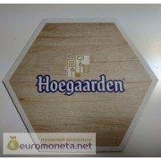 Бирдекель подставка под бокал (пивной) бутылку Hoegaarden