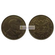 Кения 10 центов 1990 год