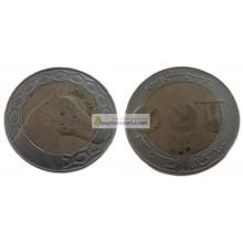 Алжир 100 динаров 2007 год биметалл.