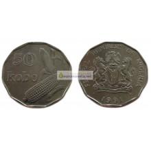 Нигерия 50 кобо 1991 год